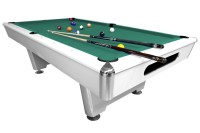 Billiard Table Dynamic Triumph, matt white, Pool