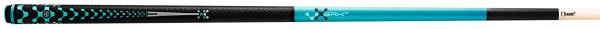 Billardqueue, Pool, Poison Break Jump VX5 BRK JMP Blue, Mini-Radial