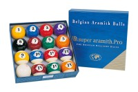 Ball Set Super Aramith Pro, 57,2 mm, Pool