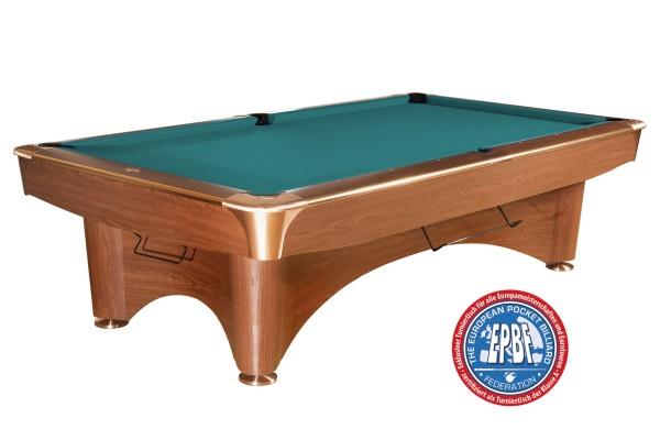 Billardtisch, gebraucht, Pool, Dynamic III, 9 ft. (Fuß), braun