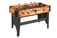 Tischfußball, Dybior Amsterdam, orange-schwarz
