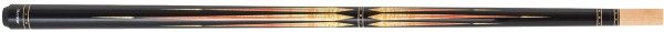 Billardqueue, Pool, Merkur PI03, mit Ersatzoberteil, schwarz, Radial