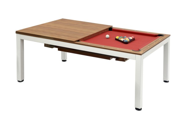 Billiard Table, Pool, Vancouver, 7 ft., brown birch
