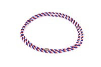 Cord, blue / white / red