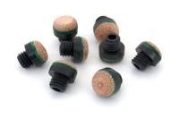 Schraubleder, 12 mm, M8, Plastik