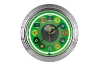 Neon billiard clock, NBU-2