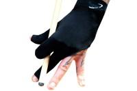 Halbfingerhandschuh, Dynamic Premium, 3-Finger, schwarz
