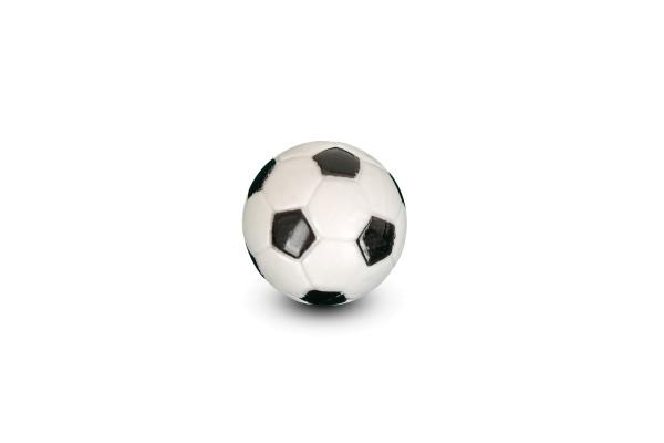Ball für Tischfußball, schwarz-weiß, 31 mm