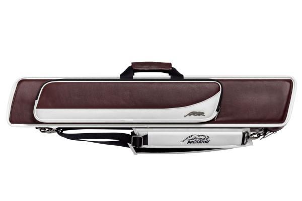 Queuetasche, Predator Roadline, burgund-weiß, 4x8, 85 cm