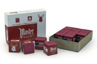 Cue Chalk, Master, Burgundy, 12 pc. Pack