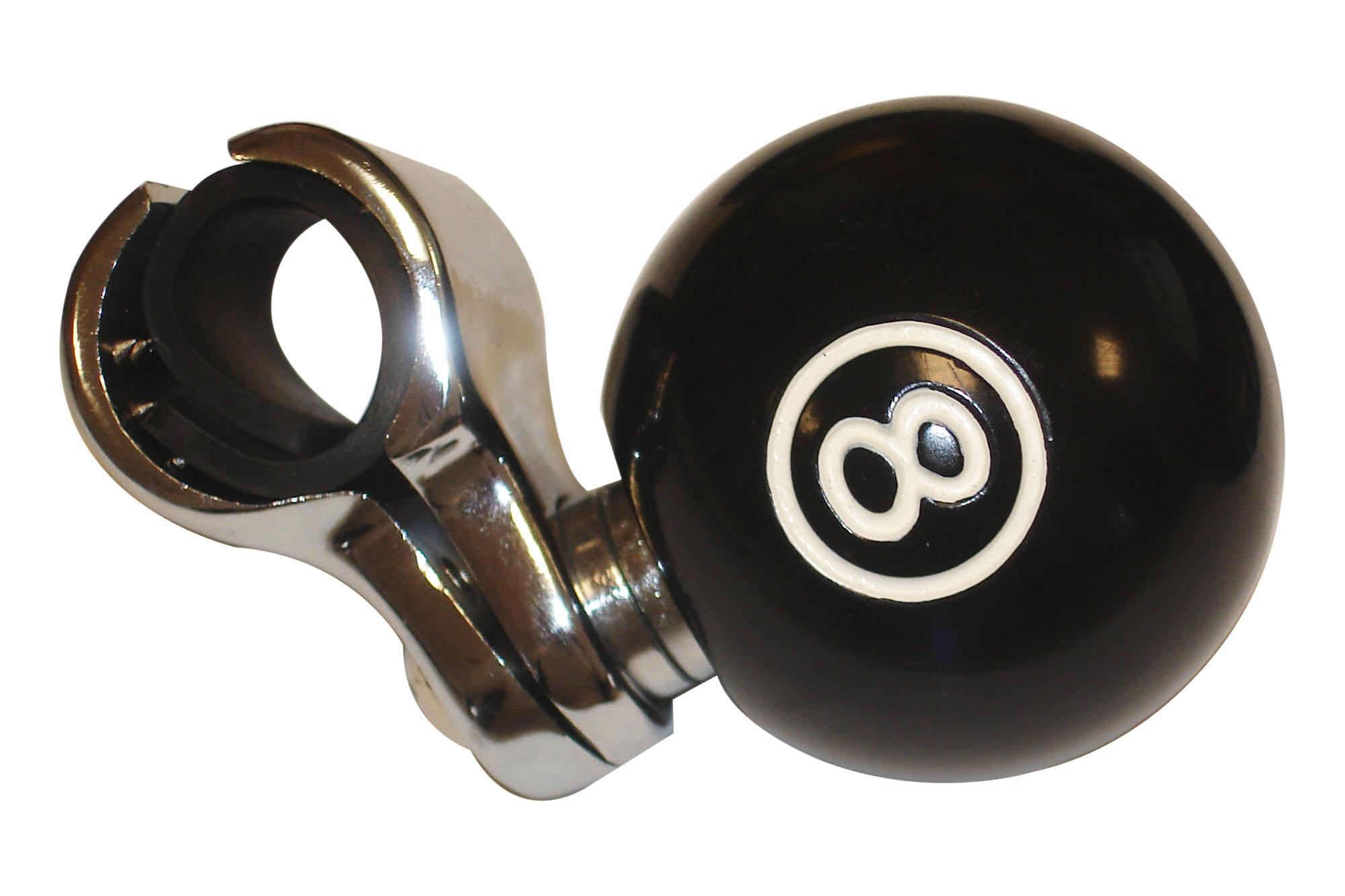 BLACK EIGHT BALL BILLIARDS POOL BALL KEYCHAIN novelty eightball key ring BALLS