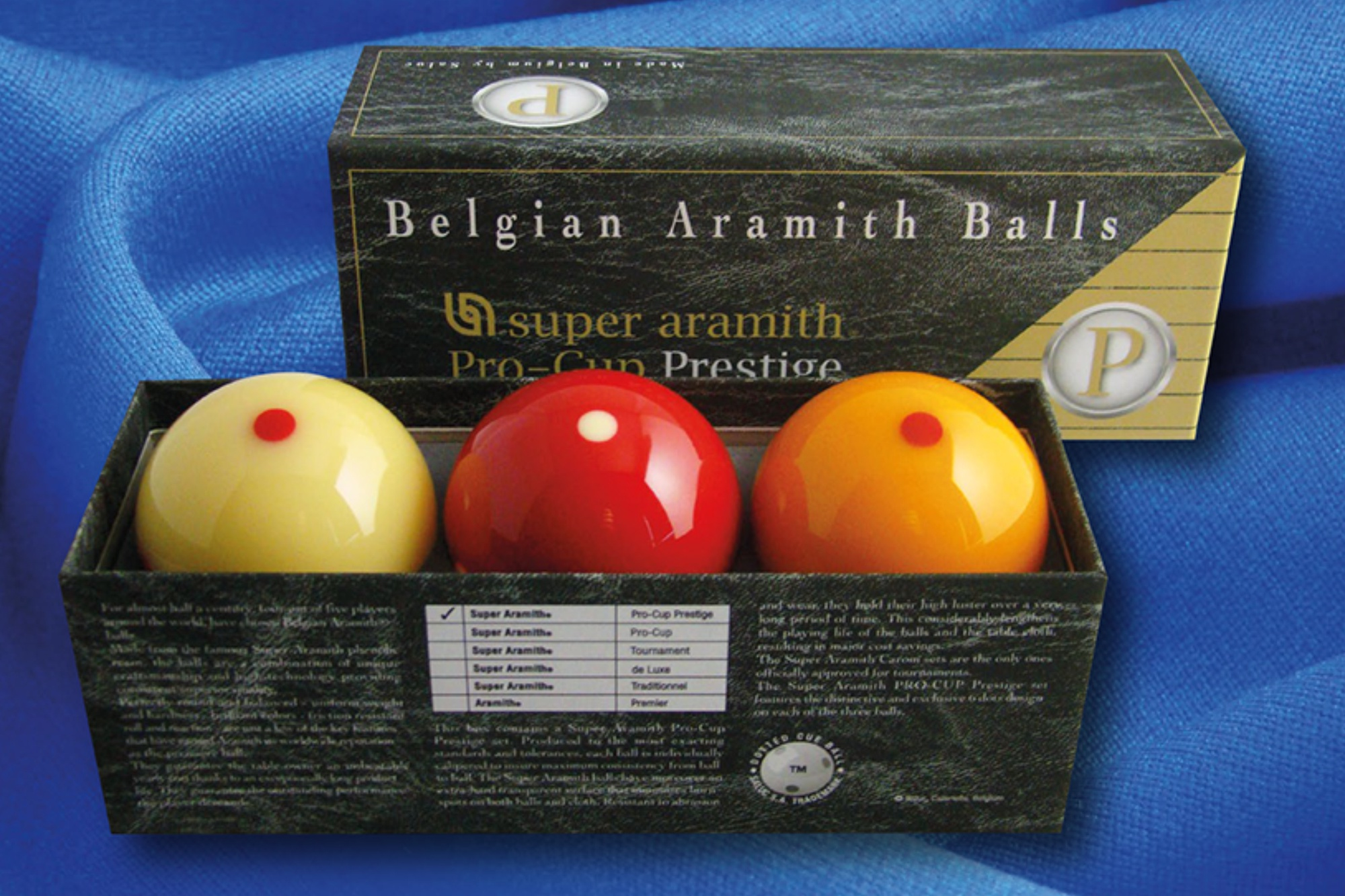 Aramith Super Pro-Cup 8 Set de pelotas de billar 50,8 mm
