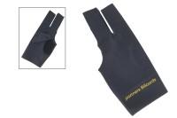Halbfingerhandschuh, Classic, 3-Finger, schwarz