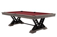 Billiard Table, Pool, Rasson Vienna, 8 ft., Silver Mist