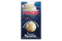 White Ball Aramith Pro Cup with red dots, 52,4 mm, Snooker