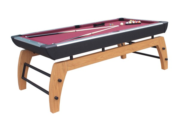 Billiard Table, Pool, Montego, 7 ft., black-silver