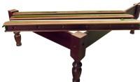 Beine, Billardtisch, 12', mahagoni, Snooker, gebraucht