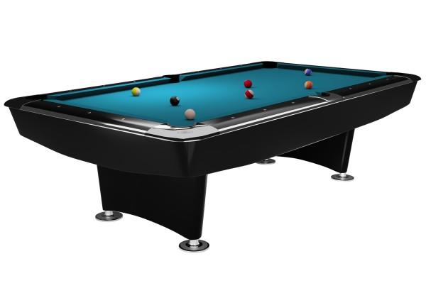 Billardtisch, Pool, Dynamic II, schwarz glänzend