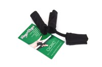 Finger Wraps, Palmless Glove, black, universal size