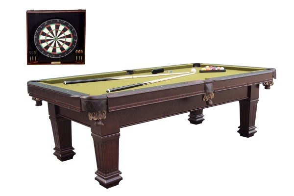 Billardtisch, Pool, Imperial, 8 ft. (Fuß), inkl. Dartboard