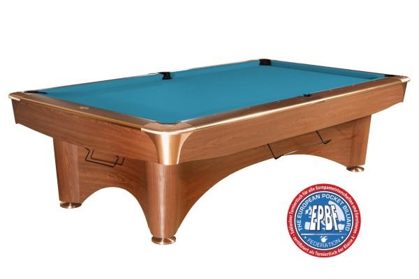 Billardtisch Dynamic III, 9 ft. (Fuß), braun, Pool, gebraucht