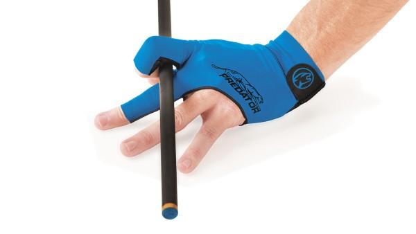 Handschuh, Predator Second Skin, 3-Finger, blau,