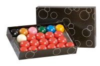 Ball Set Standard, 52,4 mm, Snooker