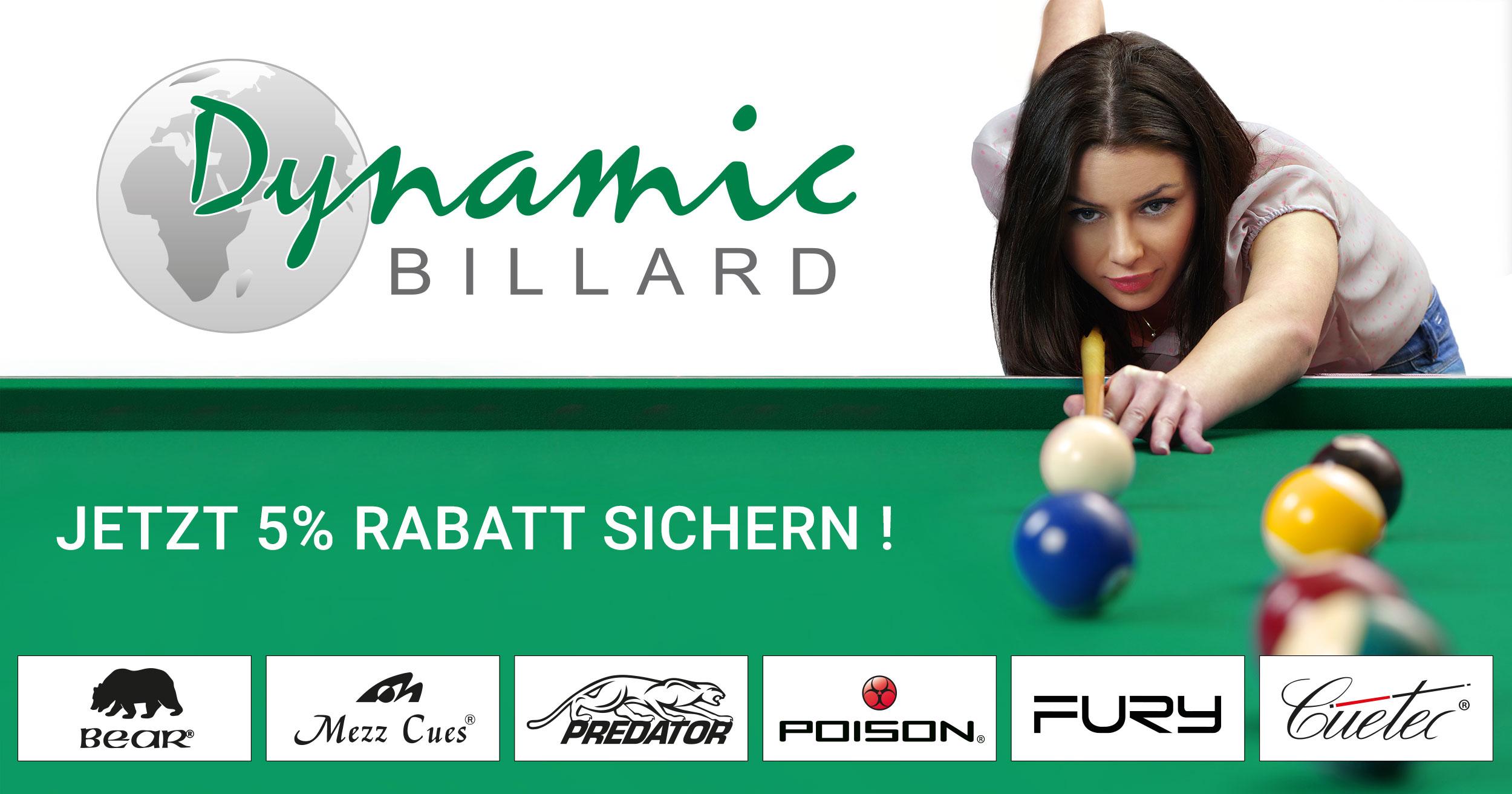 Dynamic Billard Shop - Cues, Billiard Tables & Accessories