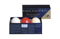 Ball Set Aramith Carom de Luxe, 61,5mm