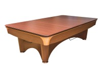 Table cover for Dynamic III, 9 ft., r104, brown