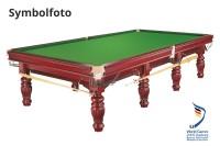"""Billard Tisch """"Prince"""", 12 Fuß, mahagoni, Snooker, Gebraucht"""