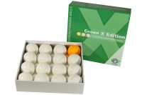 Ball Set Crown X Edition, 68 mm, without numbers, Pyramid