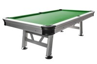 Billiard Table Dynamic Sydney, 8 ft, silver, Pool