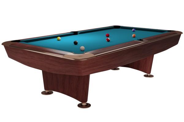 Billiard Table Dynamic II, 9 ft, brown, Pool