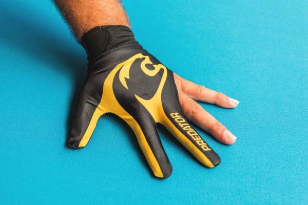 Handschuh, Predator LE 3-Finger, schwarz-gelb