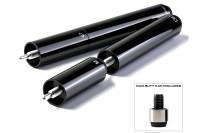 Queueverlängerung, Cuetec Duo Extensions, inkl. Adapter, metallic-schwarz