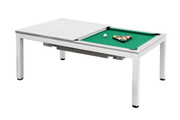 Billiard Table, Pool, Vancouver, 7 ft., matte white