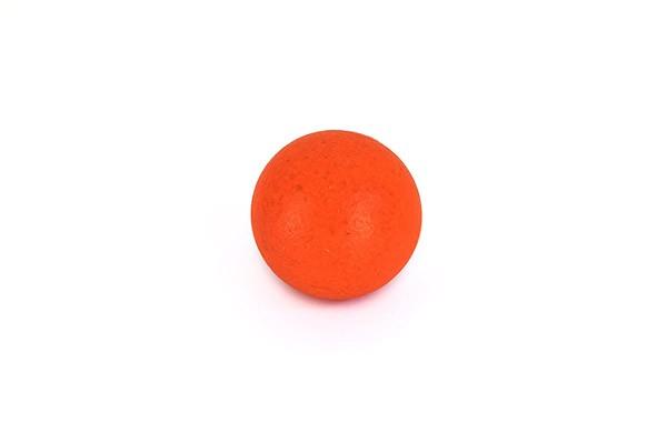 Ball für Tischfußball, Kork, neon-rot, Set, 10 Stück