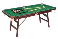 Dynamic Hobby Billiard Table, 6 ft, mahogany, Pool