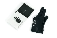 Billiard Glove, Kamui, Black, to wear on right hand