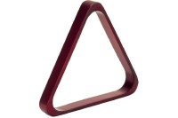 Triangle Dynamic, mahogany, wood, 57,2 mm, Pool