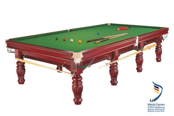 Billardtisch, Snooker, Dynamic Prince, mahagoni