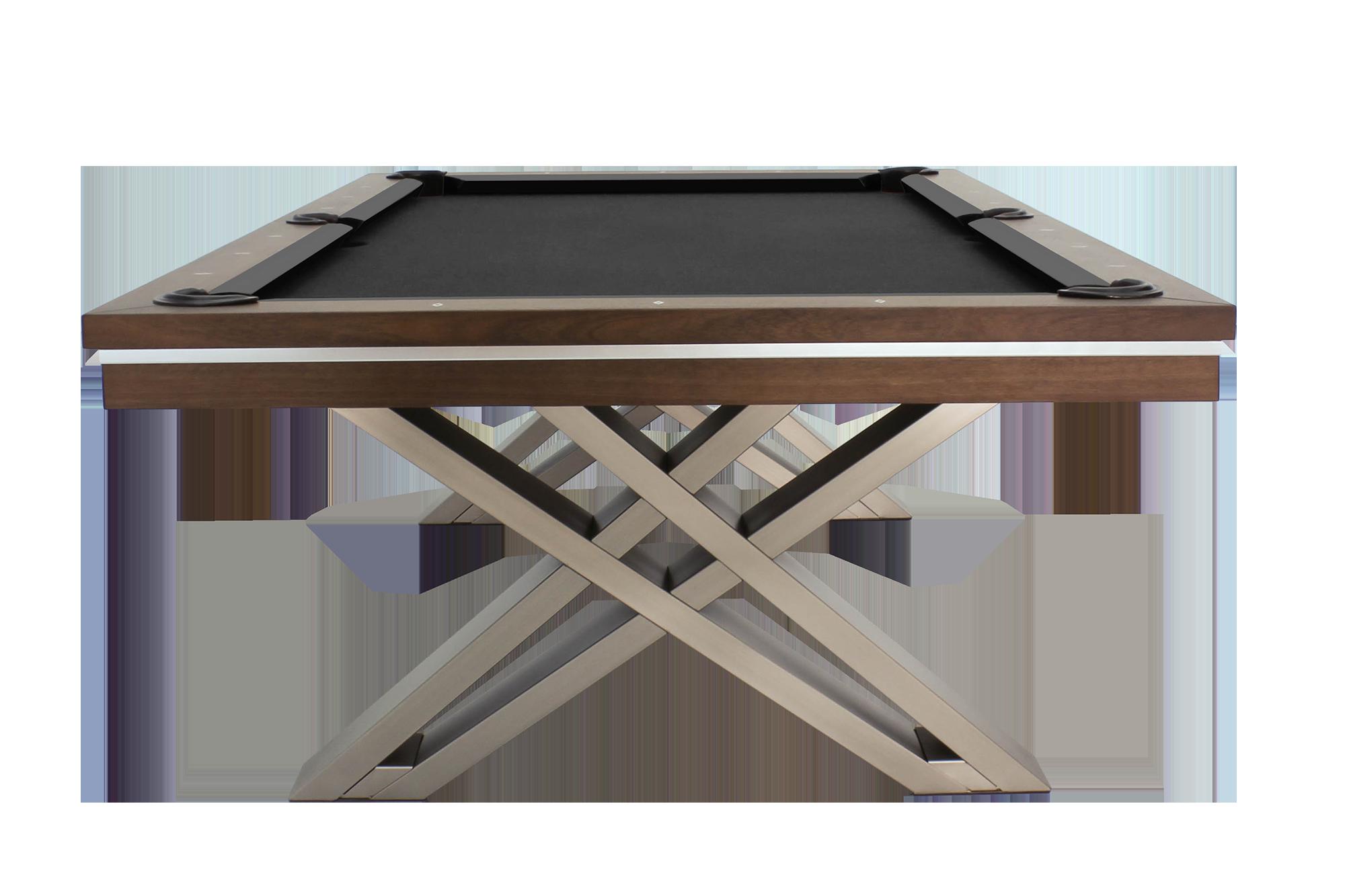 - Billiard Table, Pool, Pierce, 8 Ft., Walnut Pool Tables 8ft