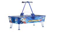 Commercial Airhockey Gold, 199x107x81 cm, blue-white, for commercial use