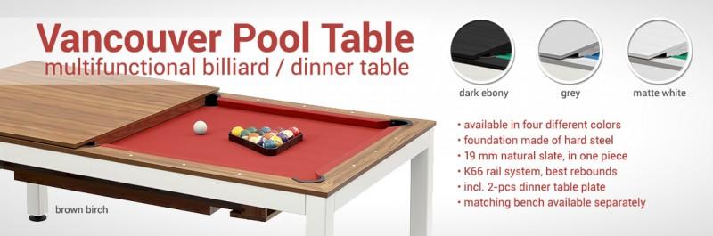 Dynamic Billard Shop Cues Billiard Tables Accessories Dynamic - Hippopotamus pool table