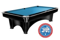 Billiard Table Dynamic III, 9 ft, black, matt finish, Pool