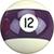 Billard Ball 12