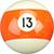 Billard Ball 13